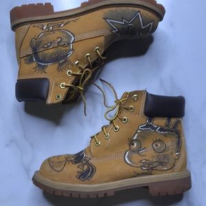 Timberland Custom Rugrats Boots Size 3